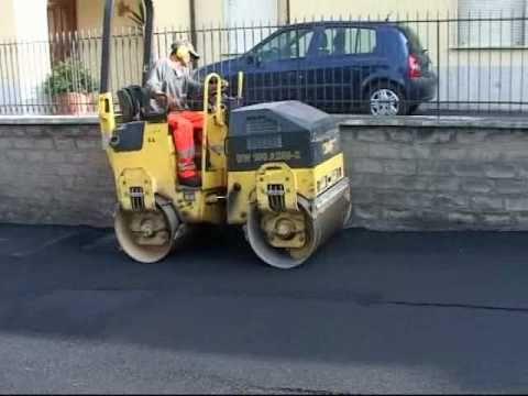 Progressione dei lavori di rifacimento del manto stradale – Campagnano di Roma