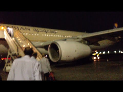 Saudi Airlines Flight Review: Airbus A330 Jeddah to Hyderabad via Dammam SV756