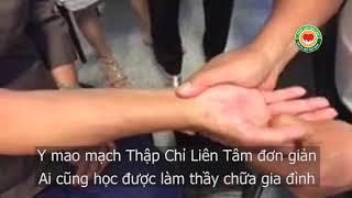 Thầy Dư Quang Châu hướng dẫn chữa tê tay, mất ngủ, Mönchengladbach 2017