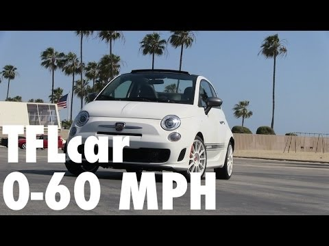 Fiat 500 Abarth 0 60 >> 2015 Fiat 500 Abarth Cabrio Fully Loaded 0-60 MPH Review - YouTube