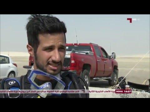 Khaled Zaki & Qatar Marine with  AlKass  TV  Diving  in Qatar