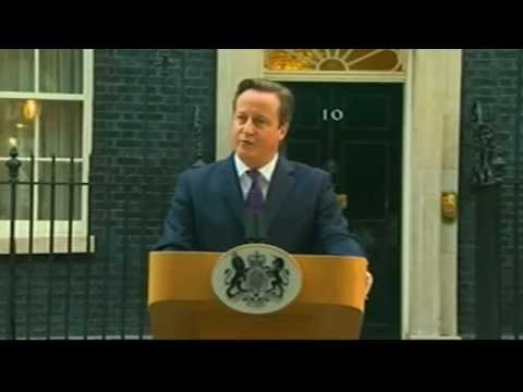 Raw Video: David Cameron on Scotland independence vote