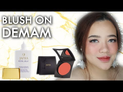 Jafra Cream Blush & Royal Jelly First Impression Review