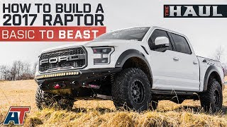 """Building Justin's 2017 Ford Raptor From Stock To Badass   35"""" Tires + 2"""" Lift + Tune - The Haul"""
