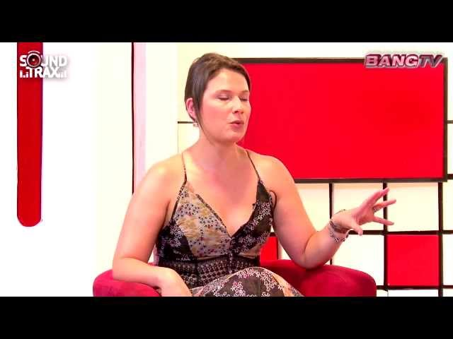 CATHERINE MAZOYER EN SOUNDTRAX / BANG TV