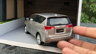 Unboxing of Mini Toyota Innova Crysta 1/32 Diecast Model Car | By Toyota Merchandise