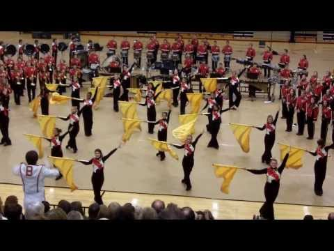 2013 BBHHS Marching Band - This Land/Circle of Life