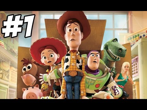 Toy Story 3: The Video Game Walkthrough | Part 1 (xbox360 ps3 pc wii) video