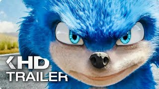 SONIC THE HEDGEHOG NEW MOVIE TRAILERS 2019