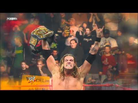 WWE Hall of Fame 2012 Inductee: Edge