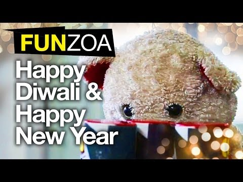 Teddy Wishes Happy Diwali & Happy New Year-Funny Video For Friends