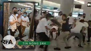 Tin nóng 24H | Căng thẳng tại Hong Kong sau khi người biểu tình bị côn đồ đánh