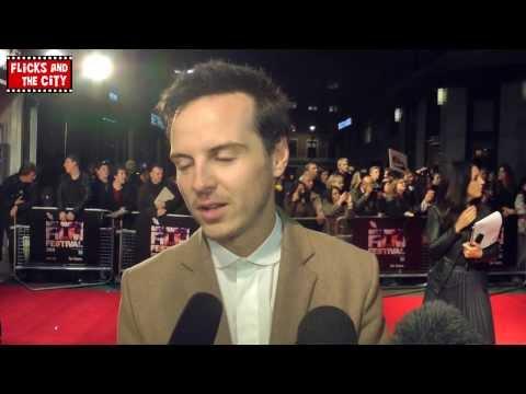 Andrew Scott Interview - Sherlock's Moriarty & Locke