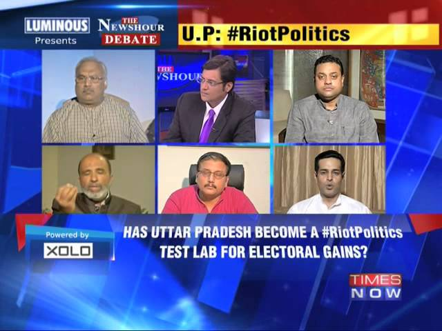 The Newshour Debate: Riot Politics - Part 1 (28th July 2014)