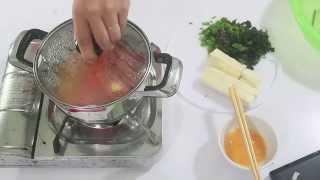 Cách nấu canh trứng đậu phụ mát và bổ dưỡng