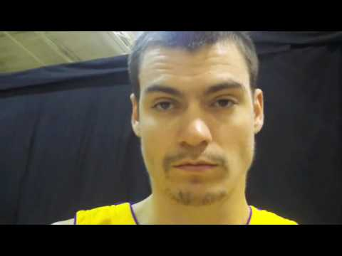Adam Morrison, on his upcoming season