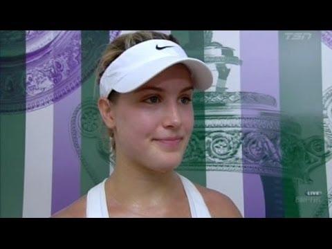 Milos Raonic & Eugenie Bouchard advance to Wimbledon semis