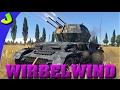 War Thunder-Wirbelwind Realistic Gameplay