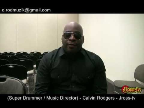 James Ross @ (Drummer / Music Director for Fred Hammond) - Calvin Rodgers - Jross-tv