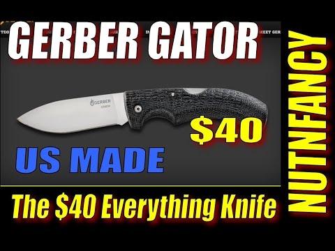 Gerber Gator: The $40 Do Everything Knife Draws Blood