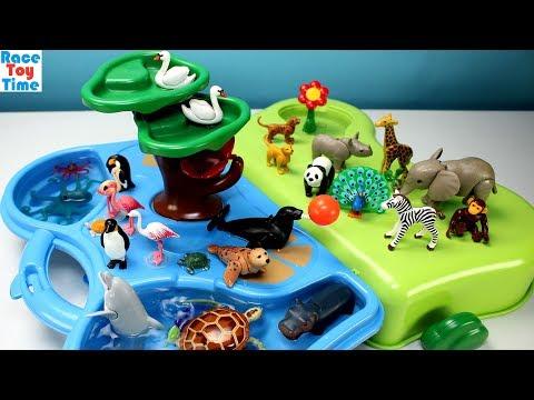 Playmobil Animals Zoo and Aquarium Playset Fun Toys For Kids