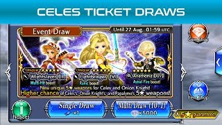 Dissidia Final Fantasy: Opera Omnia - Celes Ticket Draws