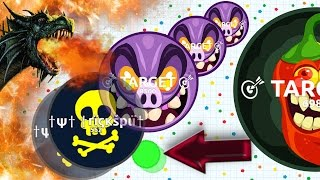 Agar.io - AGARIO EXCELLENT SOLO TACTICS #2 // Agario Gameplay (Destroying Teams Solo in Agar.io)