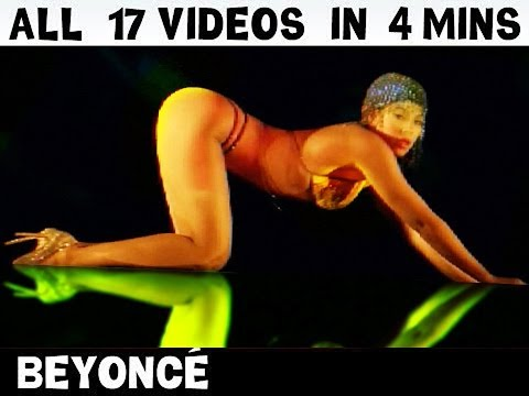 Beyonce - Tits & Ass : All 17 Videos in 4 Mins! [Visual Album] thumbnail
