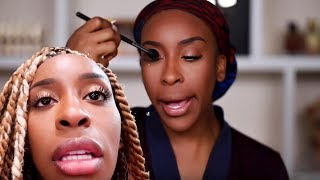 I'm DITCHING WIGS! Spend the Day & Get Glam With Me | Jackie Aina