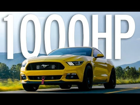 What It's Like to Drive a 1000HP Mustang [4K]