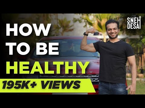 How To Be Healthy? | Motivational Video In Hindi video