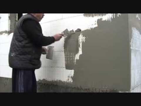 Штукатурка стен по пенополистиролу своими руками