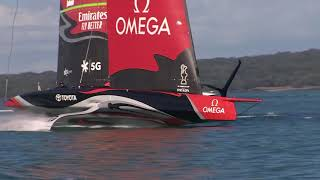 Emirates Team NZ   Day 1