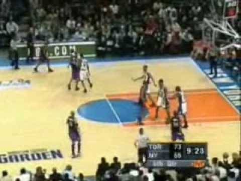 2001 NBA Playoffs: Toronto Raptors @ New York Knicks Game 5 4th Quarter Part 1