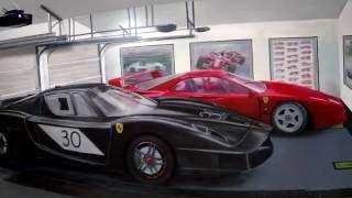 Ferrari mural time lapse