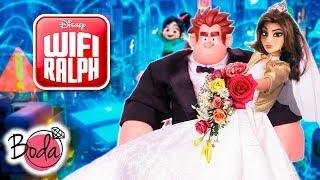 La BODA de RALPH y SHANK se hace VIRAL en INTERNET 🌐 Juguetes Fantásticos