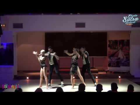 SalsaDoo Dance Performers Dance Show | 2.Chania Salsa Festival