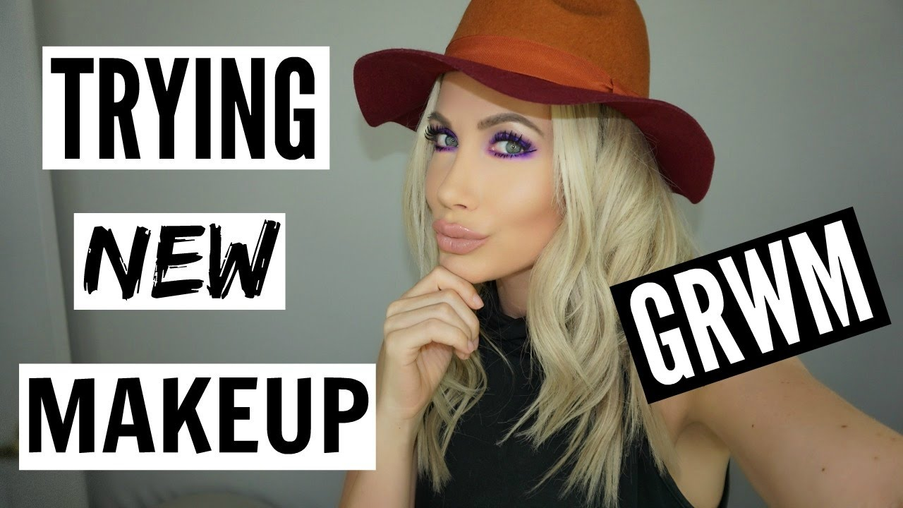 GRWM TRYING NEW CRUELTY FREE BEAUTY PRODUCTS