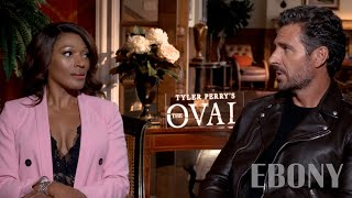 EBONY Talks with Kron Moore and Ed Quinn of BET Show The Oval
