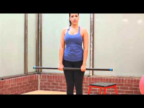 Butt-Toning Strength Training Exercises for Women- Romanian Dead Lift - General Exercise.flv Image 1