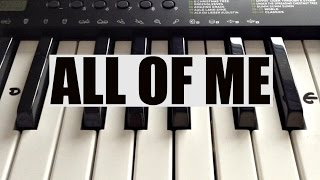(2.97 MB) How To Play ALL OF ME- John Legend Intro on Piano - Easy! Mp3