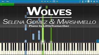 Download Lagu Selena Gomez & Marshmello - Wolves (Piano Cover) by LittleTranscriber Gratis STAFABAND