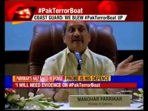 Pakistan boat row: We stand by our statements, says Manohar Parrikar