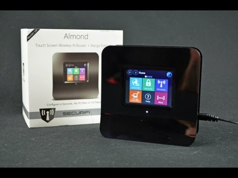 Securifi Almond Touch Screen Router: Unboxing & Review