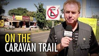 David Menzies' caravan investigation begins in Mexico | David Menzies