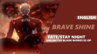 Download lagu ENGLISH Fate/Stay Night: UBW S2 Opening - Brave Shine | Dima Lancaster feat. Miku-tan