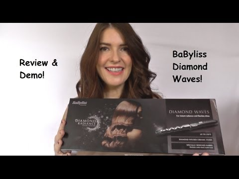 BaByliss Diamond Waves Demo / Review