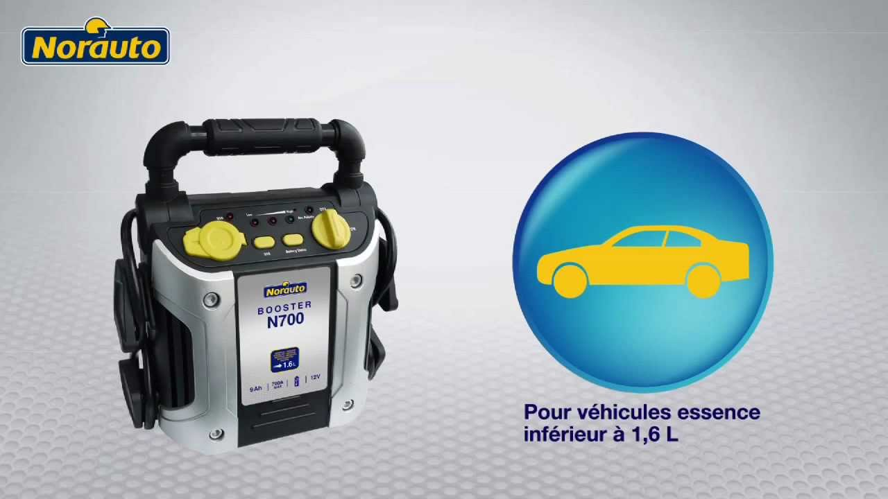 Booster norauto n700 disponible sur youtube - Booster batterie norauto ...