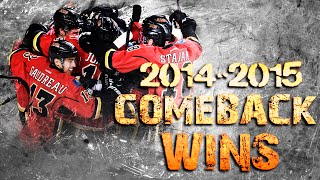 Calgary Flames Comeback Wins - 2014/2015 Season