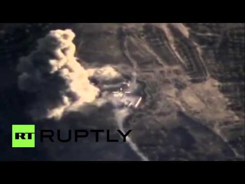 Syria: Russian airstrikes destroy fortified militant command centre in Idlib